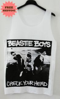Beastie Boys Rap Punk Vintage Tank Top Vest Singlet Tee T Shirt FREE