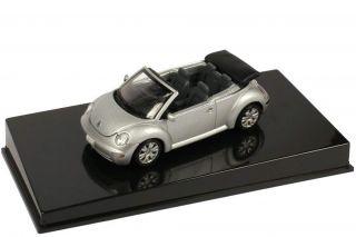43 Volkswagen VW New Beetle Cabrio Convertible Reflex Silber Silver