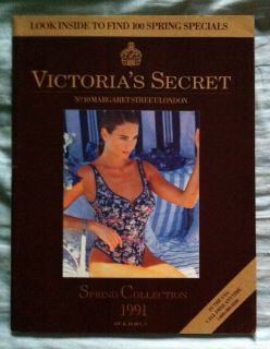 Victorias Secret Spring Collection 1991 with Frederique Van Der Wal
