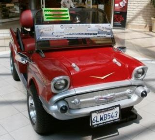 Custom Classic 1957 Chevrolet Bel Air Golf Cart car 57 Chevy dmv