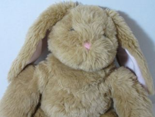 Build A Bear Workshop 17 Brown Bunny Rabbit Stuffed Plush Animal BABW