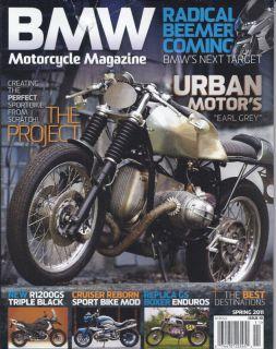 BMW Motorcycle Magazine Urban Motors Radical Beemer