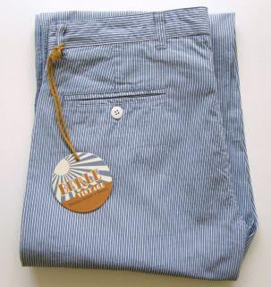 Berle Mens Pants High Quality Very Durable Fabric 100 Cotton Sz 32 34