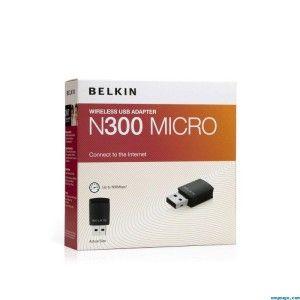 Belkin N300 Micro Wireless USB Adapter 300Mbps F7D2102 XP Vista 7 New