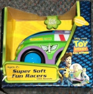 Disney Pixar Toy Story and Beyond Super Soft Fun Racer with Sound