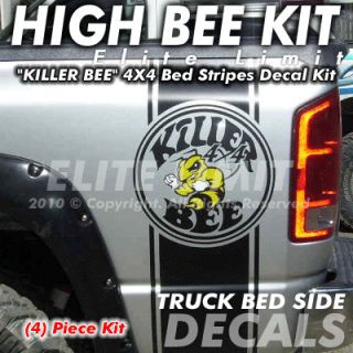 RAM Truck Stripes Bed Decal Vinyl Sticker Graphics Killer Bee