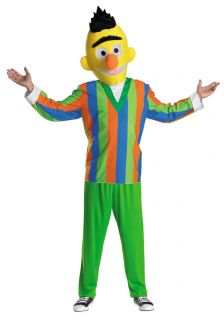 Bert Sesame Street Adult Costume New Halloween