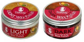 TABLEAU LIGHT & DARK WOOD WAX FURNITURE SOFT WAX POLISH 100ML