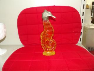 Big Sea Horse vintage avon perfume bottle with original liquid