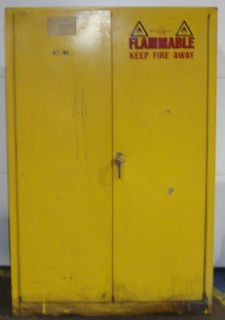 SLS1A4 Just Rite Flammable Cabinet 7661SO
