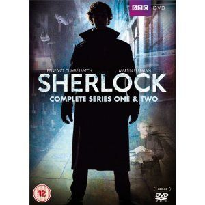 Sherlock Complete Series 1 2 DVD BBC Benedict Cumberbatch
