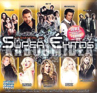 Super Exitos CD DVD Pandora Shakira Chayanne Thalia Y