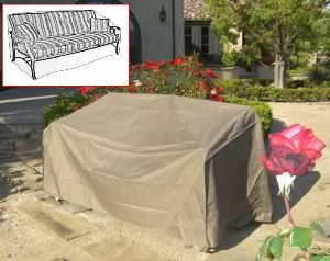 Patio Garden Outdoor Sofa Cover 80L New Patio Furniture Cover by