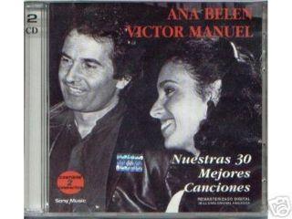 ANA Belen Victor Manuel 30 Mejores Grandes Exitos 2 CD