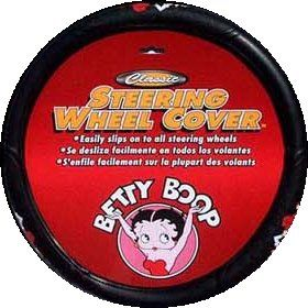 Betty Boop Massage Car Truck Steering Wheel Cover New