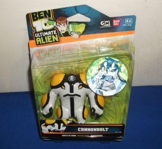 Ben 10 Ultimate Alien 10cm Action Figure Cannonbolt RARE First Edition