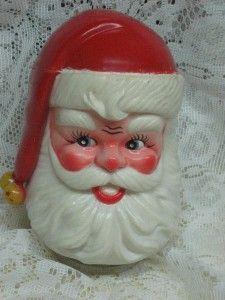 vintage berman anderson santa claus music box