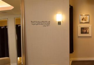 Beneath The Makeup and Behind The Smile Marilyn Monroe Wall Decal