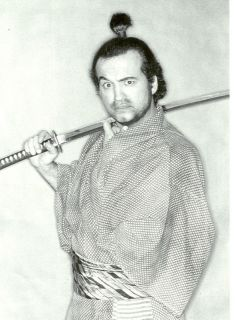 Saturday Night Live John Belushi Samurai Postcard 4