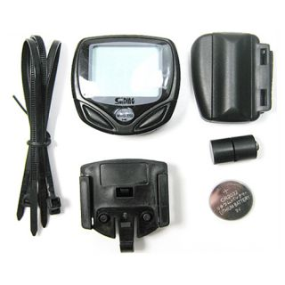 Wireless LCD Cycle Bike Bicycle Computer Speed Counter