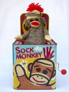Monkey Jack in The Box Schylling Musical Pop Goes The Weasel