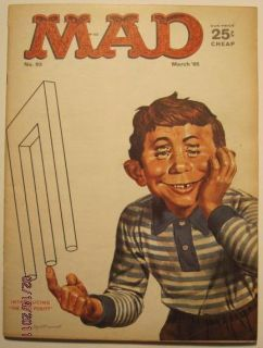 March 1965 Mad Magazine Issue 93 Intro The Mad Poiuyt