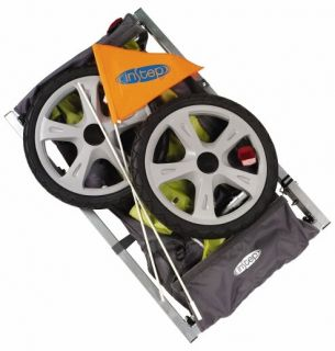 instep qe104 sync bicycle baby kids pet bike trailer new for 2012 auth