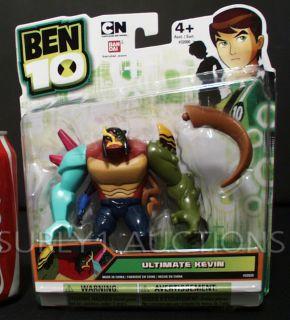Ben 10 Ultimate Kevin 4 Action Figure Bandai Cartoon Network New