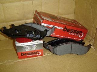 Besser Premium Front Disc Brake Pad Set D477