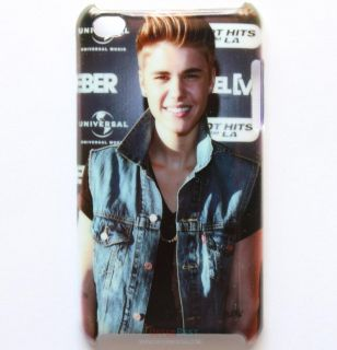 New Justin Bieber Hard Back Cover Case for iPod Touch 4th 4 4G JSB2