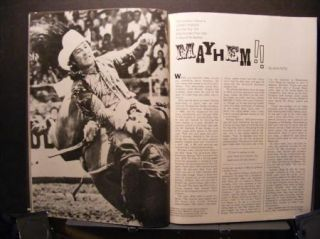 Rider Magazine Yearbook Ben Johnson Gene Autry Larry Mahan