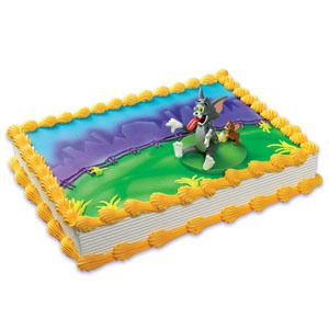 Tom Jerry Cake Kit Toppers Birthday Party Supplies TV