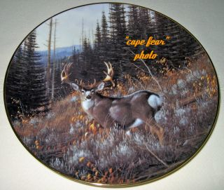 Michael Sieve Whitetail Deer Pagoda Peak Big Buck Plate