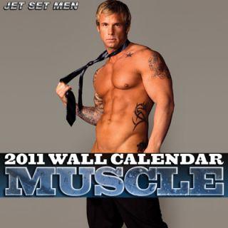 Big Daddy 2011 Muscle Wall Calendar Jet Set Men Pose