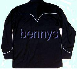 New Las Vegas Casino Poker Western Shirt Bennys XXL