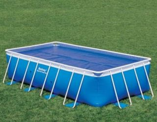 Deluxe Outdoor Bestway Solar Swimming Pool Cover Sheet 9 x 18 Ft