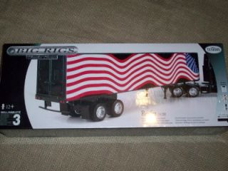 esors Big Rig ruck railer Reefer Meal Series Model