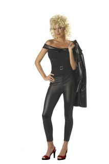 New Women Sexy 50s Grease Cool Sandy Halloween Costume