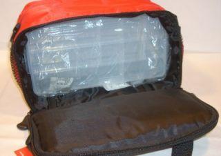 Berkley Freshwater Fishing Tackle Box Soft Sided Storage Bag w 2 Trays