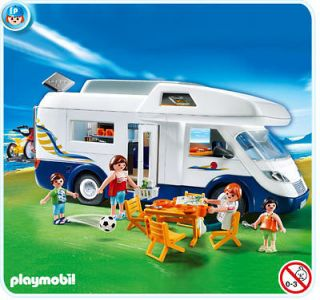 playmobil leisure 4859 family camper van new from united kingdom