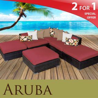 Henna Spice Garden Outdoor Wicker Patio New Modular Furniture