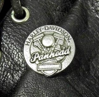 Motor Old Skool School Harley Davidson Motorcycle Biker Pin