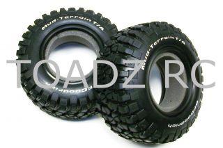 Slash 4x4, BF Goodrich Mud Terrain Tires (2) 6871