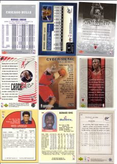MICHAEL JORDAN CHRIS WEBBER WES UNSELD BERNARD KING Books to $35.00