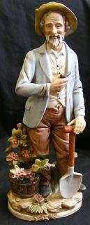 Homco Home Interiors Man Woman Large Figurines 8816