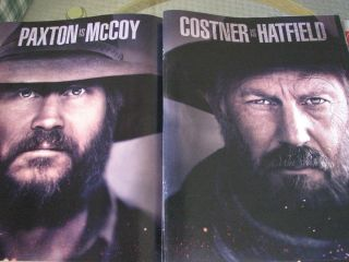 McCoys Kevin Costner as Hatfield Bill Paxton as McCoy pre EMMY AD