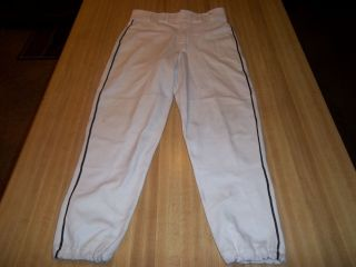 Milwaukee Brewers Game Used Worn Pants Mr 3000 Bernie Mac