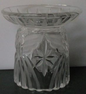 Gorham Crystal Angel Pillar Holiday Traditions Candle Holder Germany