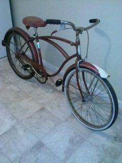 Vintage Schwinn Speedster 26 Mens Bicycle Bike 1950S