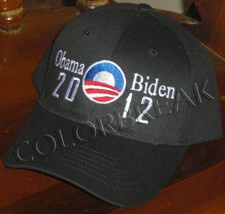 Obama Biden President Logo Cap Hat 2012 Election